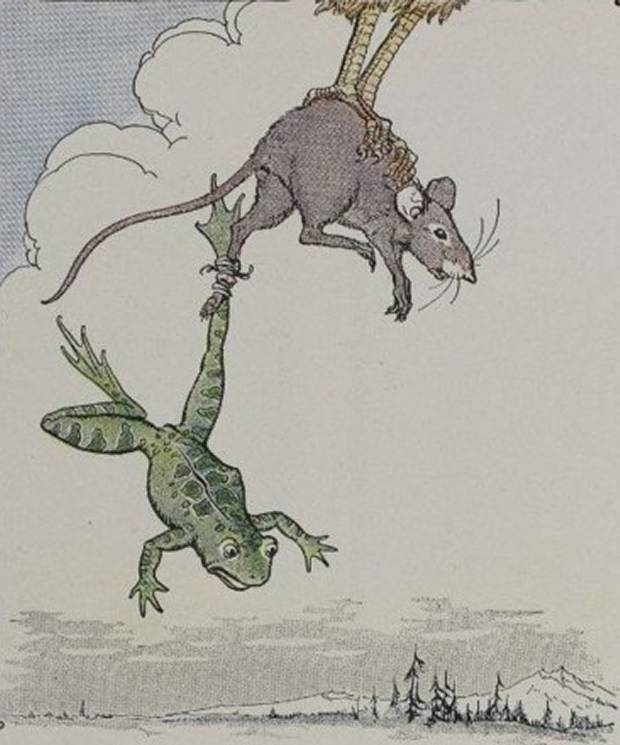 Aesop's Fables - The Frog And The Mouse By Milo Winter