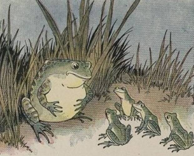 Aesop's Fables - The Frogs And Ox By Milo Winter