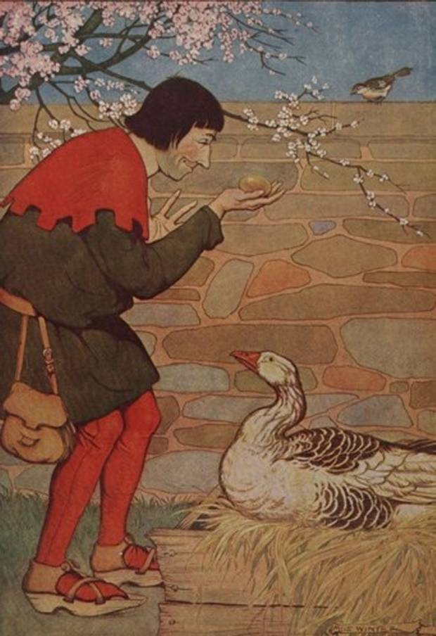 Aesop's Fables - The Goose And The Golden Egg By Milo Winter