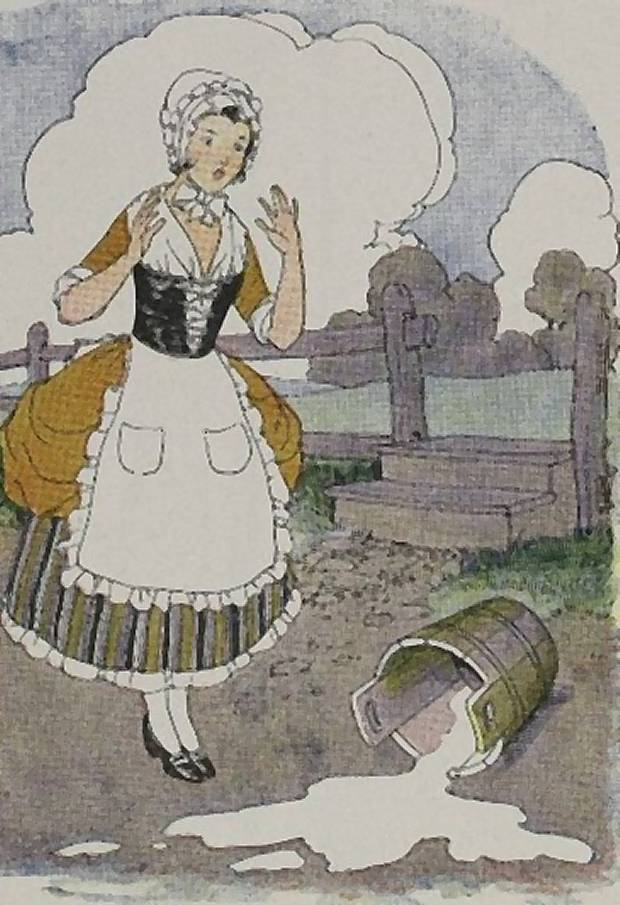 Aesop's Fables - The Milkmaid And Her Pail By Milo Winter