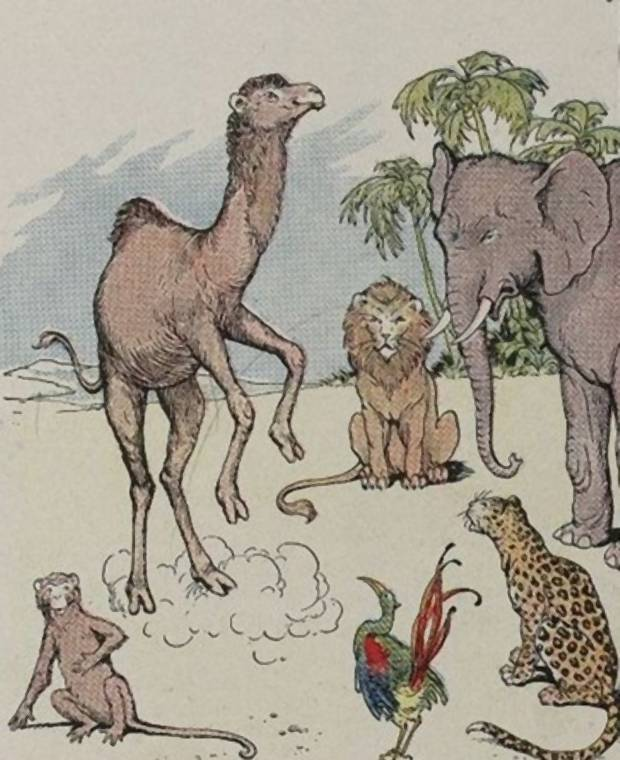 Aesop's Fables - The Money And The Camel By Milo Winter