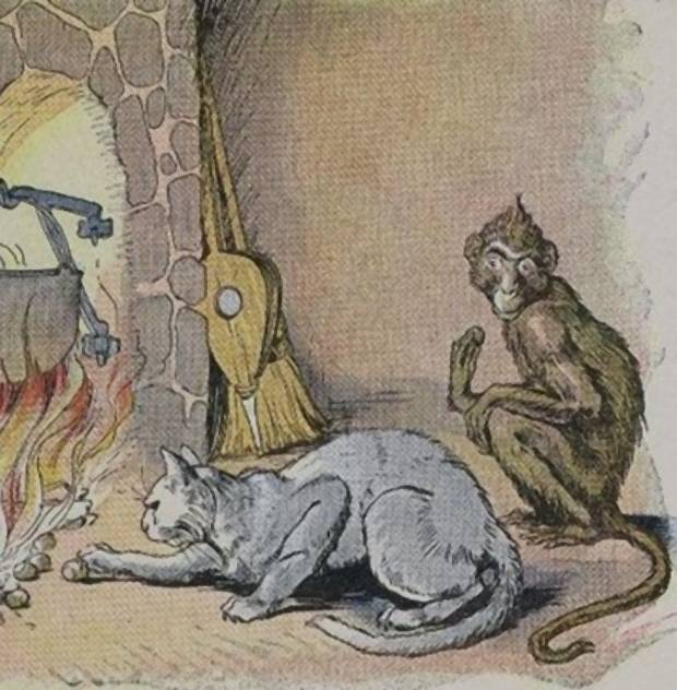 Aesop's Fables - The Monkey And The Cat By Milo Winter