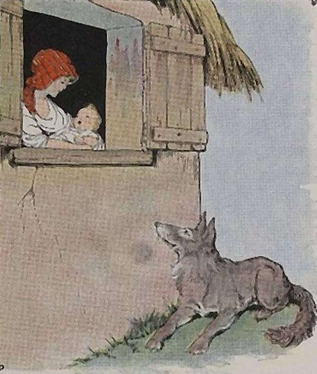 Aesop's Fables - The Mother And The Wolf By Milo Winter