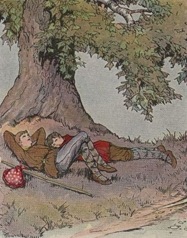 Aesop's Fables - The Plane Tree By Milo Winter