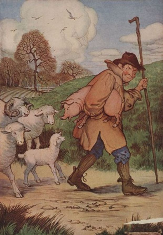Aesop's Fables - The Sheep And The Pig By Milo Winter
