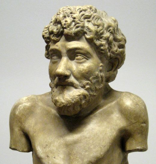 A Greek Statue Reputed To Depict Aesop