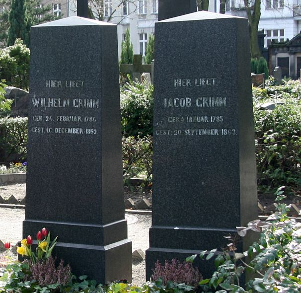 The Graves Of Jacob and Wilhelm Grimm In Berlin