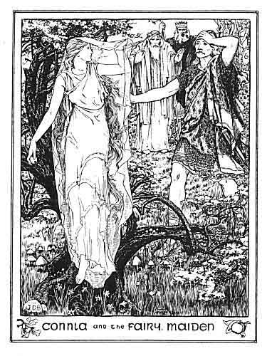 Illustration For Connla And The Fairy Maiden A Celtic Fairy Tale