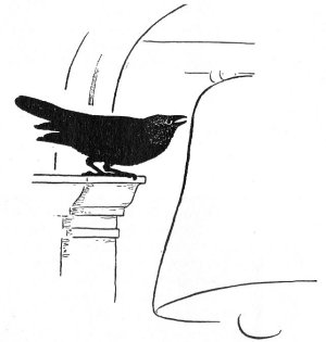 Illustration For The Raven Of The Giralda - A Spanish Folk Tale