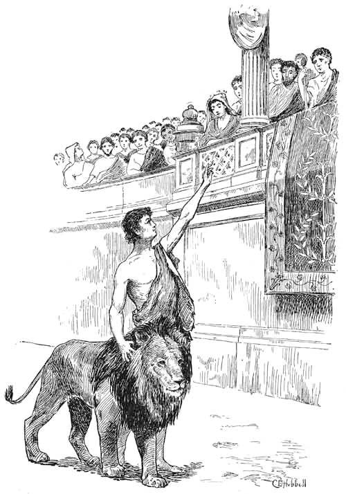 Androclus And The Lion - A Roman Legend