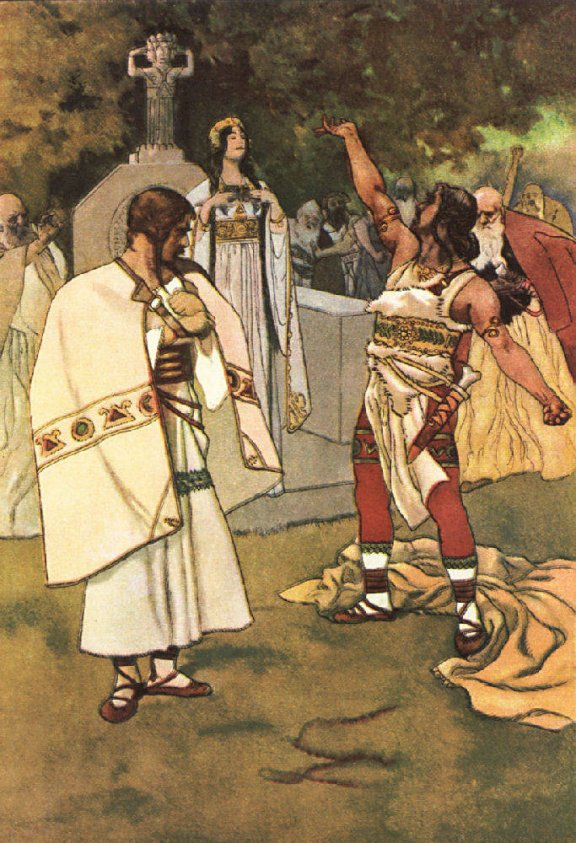 The Decision of Libuscha - A Bohemian Legend