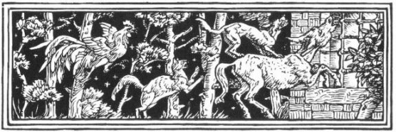 Fairy Tales From The Brothers Grimm - Decoration For The Bremen Town Musicians By Walter Crane