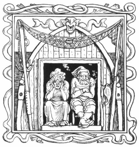 Fairy Tales From The Brothers Grimm - The Fisherman And His Wife By Walter Crane