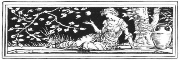 Fairy Tales From The Brothers Grimm - Decoration For The Frog Prince By Walter Crane