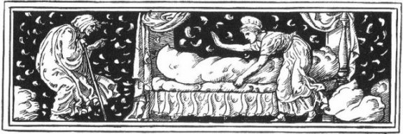 Fairy Tales From The Brothers Grimm - Decoration For Mother Hulda By Walter Crane
