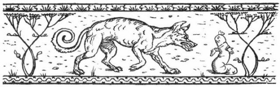 Fairy Tales From The Brothers Grimm - The Mouse, The Bird And The Sausage By Walter Crane