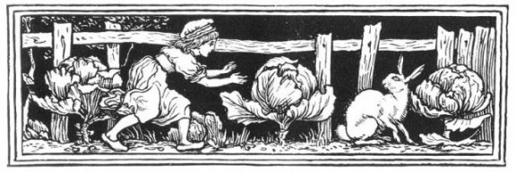 Fairy Tales From The Brothers Grimm - Decoration For The Rabbit's Bride By Walter Crane