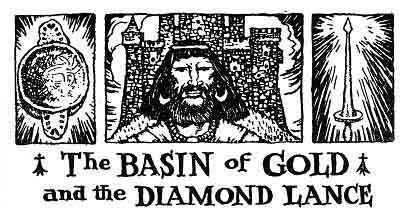 Folk Tale From Britanny - Title For Basin Of Gold And Diamond Lance
