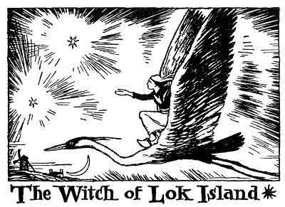 Folk Tale From Britanny - Title For The Witch Of Lok Island