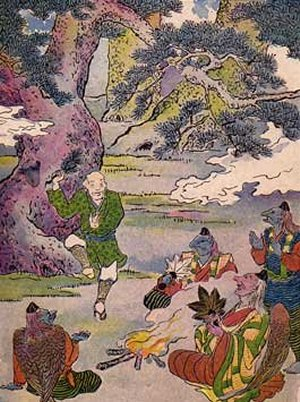 The Old Man With A Wart - A Japanese Fairy Tale