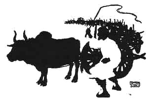 Illustration For The Ox Who Won The Forfeit - A Jataka Tale