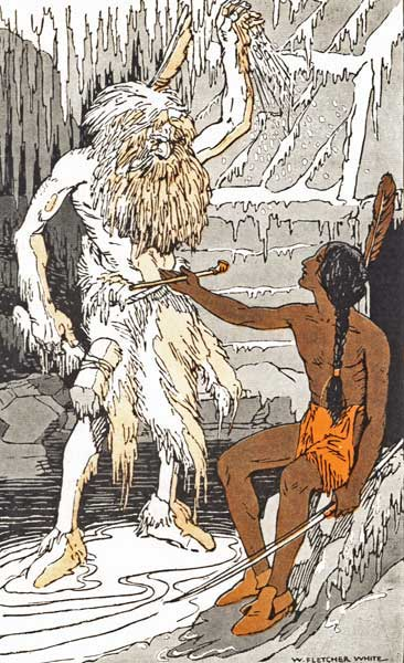 Legend Of The Iroquois - How Old Man Winter Was Driven Back
