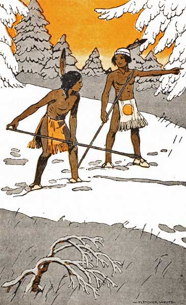 Legend Of The Iroquois - How Two Indian Boys Settled A Quarrel