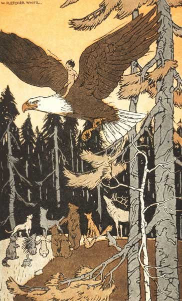 Legend Of The Iroquois - Why The Eagle Defends Americans
