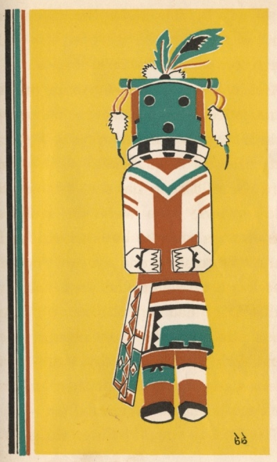 Illustration For Kachina Brings The Spring - A Native American Legend